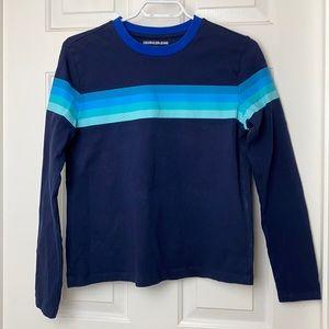 3/$20 CALVIN KLEIN JEANS Long Sleeve Shirt Size S